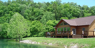 Denton Ferry Resort Luxury Vacation Cabin